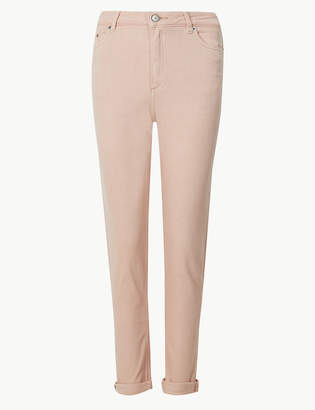 Marks and Spencer Relaxed Mid Rise Slim Jeans