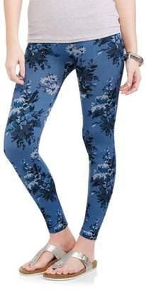 Secret Treasures Women's Floral Twill Legging Denim