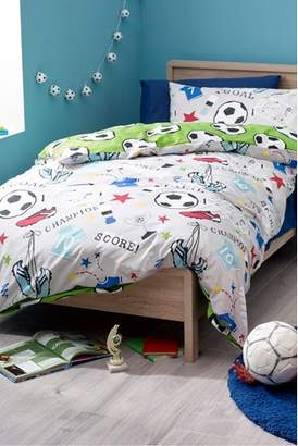 Next Football Duvet Cover and Pillowcase Set