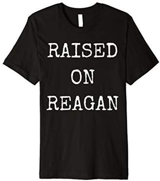 Vintage Raised Reagan Republican T-Shirt