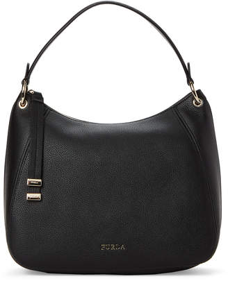 Furla Onyx Sienna Medium Leather Hobo