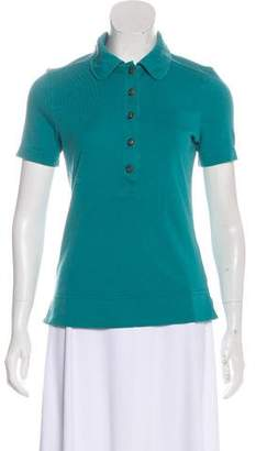 Tory Burch Short Sleeve Collared T-Shirt