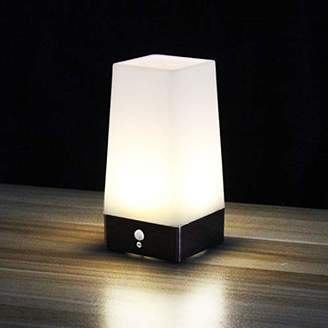WRalwaysLX 3 Modes Battery Powered Small Table Lamp