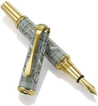 Myongong Celadon Crane and Cloud Fountain Pen