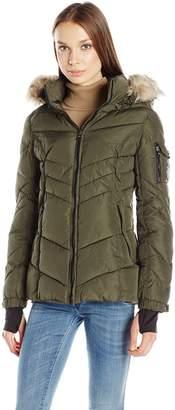 Madden-Girl Women's Puffer Jacket