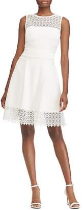 Ralph Lauren Lace Inset Dress