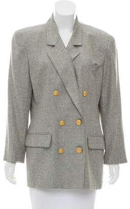 Christian Dior Double-Breasted Structured Blazer