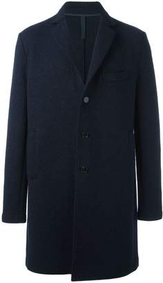 Harris Wharf London chest pocket mid coat