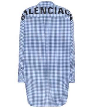 Balenciaga New Swing cotton shirt