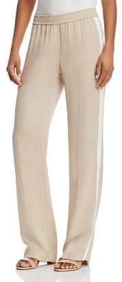 Theory Silk Track Pants