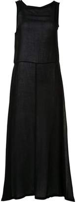 Ann Demeulemeester flared maxi dress