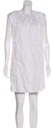 Miu Miu Ruched Mini Dress