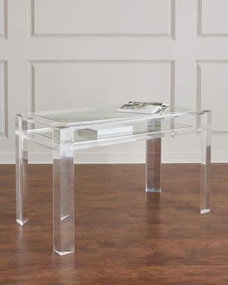 Interlude Home Landis Acrylic Writing Desk
