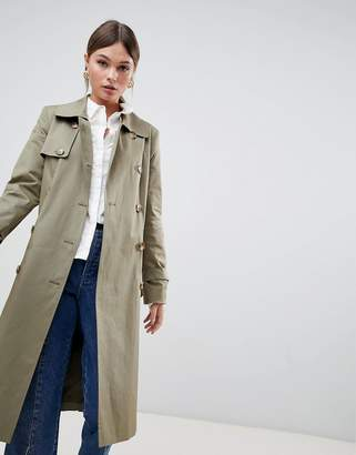 Helene Berman Double Breasted Trench
