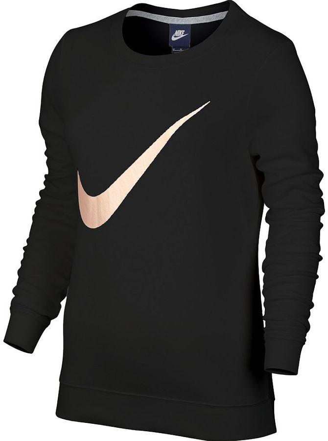 Women's Nike Sportswear Logo Crewneck Tee