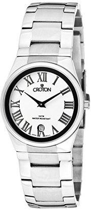 Croton ステンレススチールLadies Watch cn207246ssdw