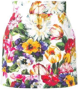 Dolce & Gabbana floral-print shorts