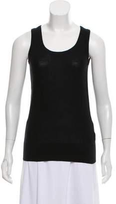 DKNY Silk Blend Sleeveless Top