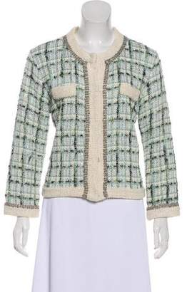 James Jeans Metallic Tweed Jacket