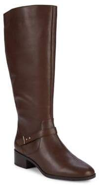 Bandolino Bloema Wide Calf Tall Leather Boots