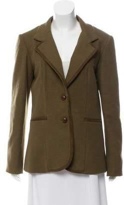 Veronica Beard Wool Notch-Lapel Jacket