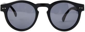 Illesteva Black Plastic Sunglasses