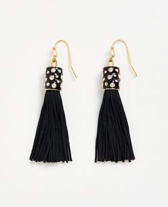 Ann Taylor Fabric Tassel Earrings