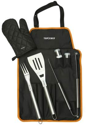 Equipment TOP CHEF Barbecue Tool Set with Apron & Mitt