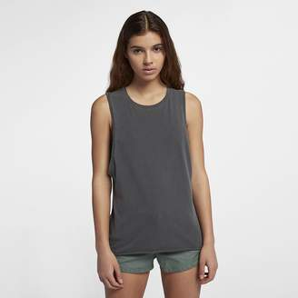Hurley Wash Biker Women's Tank Top