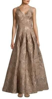 Aidan Mattox Sleeveless Long Dress
