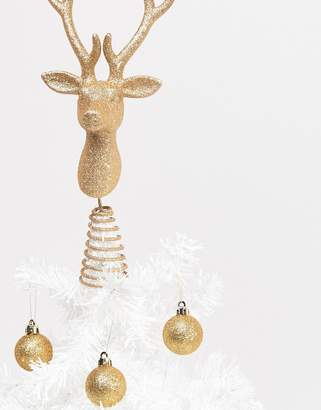 Paperchase Holidays stag tree topper decoration