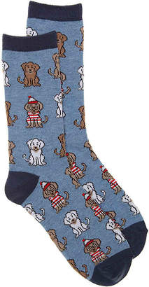 K. Bell Waldo Dogs Crew Socks - Women's
