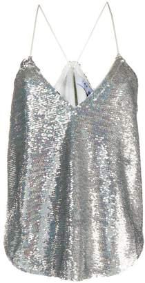IRO sequinned cami top