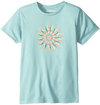 Columbia Kids Trailtastic Short Sleeve Shirt Girl's T Shirt