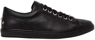 Jimmy Choo Smooth Leather Low Top Sneakers