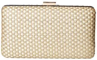 Jessica McClintock Noelle Woven Satin Handbags