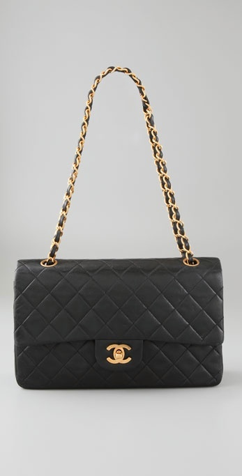 Wgaca Vintage Vintage Chanel Double Flap Bag