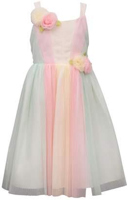 b3305891b Bonnie Jean Girls 7-16 Rainbow Tulle Midi Dress