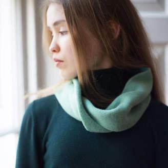 Mixter Maxter Lambswool Twist Scarf In Tweed Design