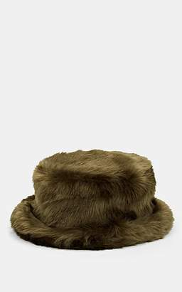 LANDLORD Men's Fur-Faux Bucket Hat - Olive