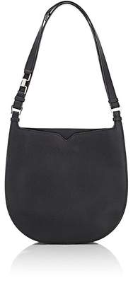 Valextra WOMEN'S WEEKEND SMALL LEATHER HOBO BAG