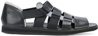 Camper strappy panelled sandals