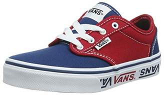 6aa99568dd Vans Boys  Atwood Canvas Classic Trainers (33 34 ...