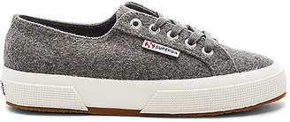 Superga 2750 Cotu Classic Sneaker in Charcoal $89 thestylecure.com