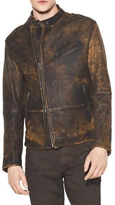 John Varvatos Classic Leather Moto Jacket