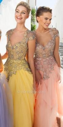 Tarik Ediz Alloy Evening Dress $1,390 thestylecure.com