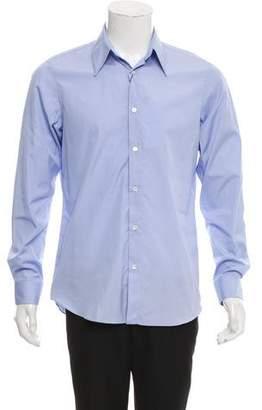 Calvin Klein Woven Button-Up Dress Shirt w/ Tags