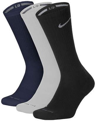 Nike 3-pk. Mens Crew Socks - Extended Size
