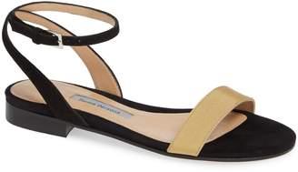 Emme Parsons Martina Ankle Strap Flat Sandal