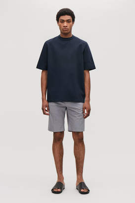 Cos POPLIN-CUFFED T-SHIRT